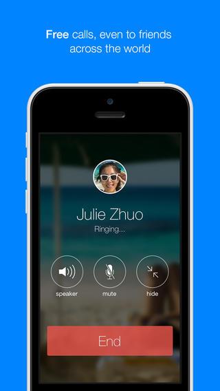 Facebook Messenger Free Call