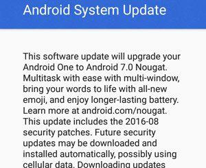 i-mobile IQ II Android 7.0 Nougat