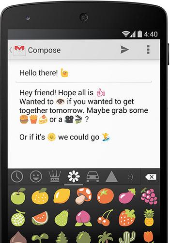 Google Keyboard มี Emoji น่ารักๆ