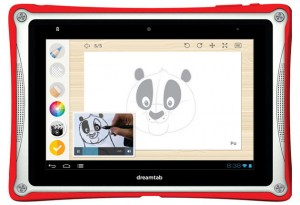 DreamTab แท็บเล็ตตัวแรกของ DreamWorks ยักษ์ใหญ่ภาพยนตร์