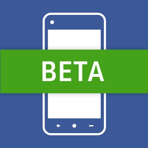 Facebook Android Beta Logo