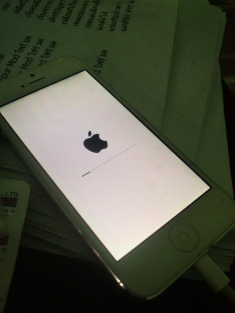 iPhone ติดตั้ง