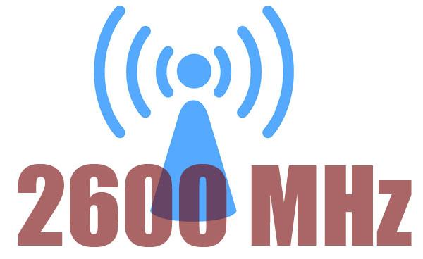 2600 MHz