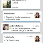 BBM for iPhone ออกมาแล้ว BBM for Android เลื่อนไปก่อน