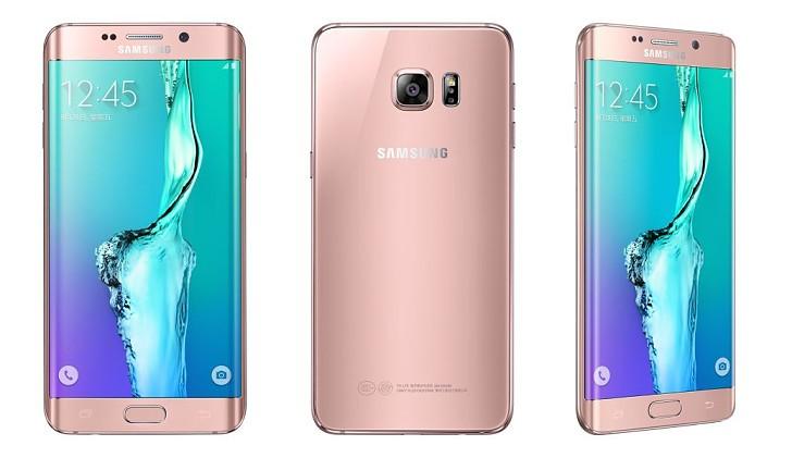 Galaxy S6 edge+ สีชมพู