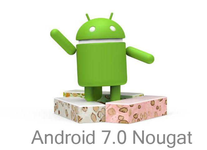 Android 7.0 Nougat logo