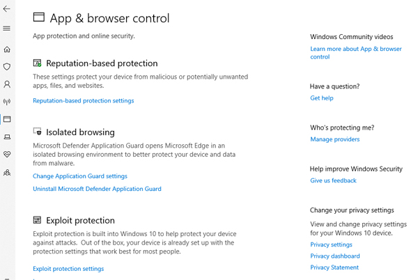 App & browser control