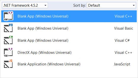 Aproveche sus conocimientos de C#, Visual Basic, C++ y HTML/JS para sacar el máximo partido al potencial de Windows 10 en la compilación de la nueva generación de aplicaciones.