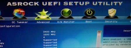 BIOS Mode UEFI