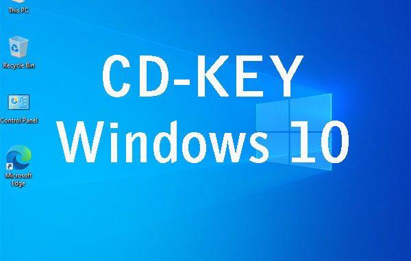 CD-Key Windows 10