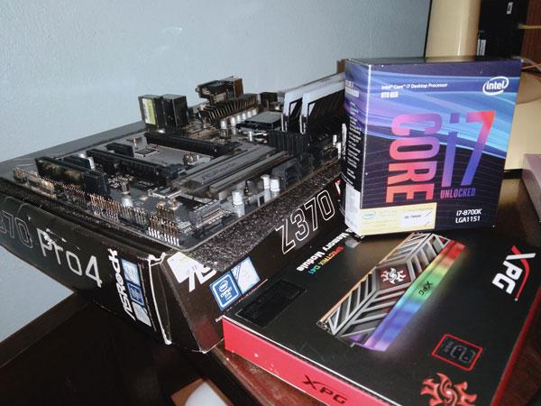 CPU Mainboard RAM