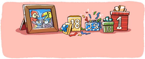 Celebration Google Doodle