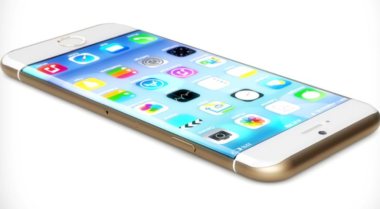 Curved OLED iPhone concept