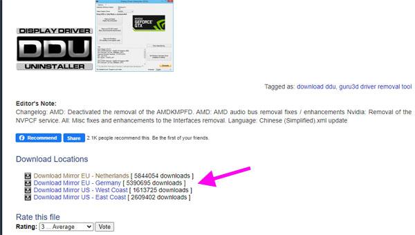Download Display Driver Uninstaller