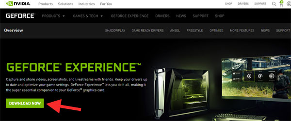 GeForce Experience download
