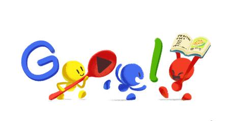 Google Doodle พัดไทย