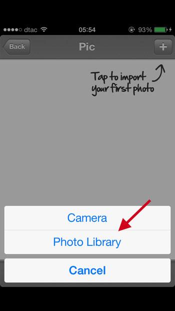 ล๊อครูปภาพ iPhone