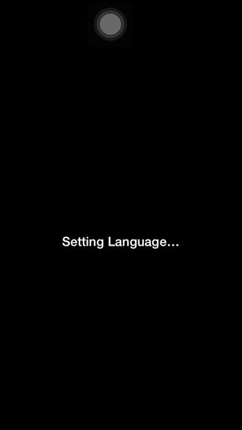 เปลี่ยนภาษา iPhone