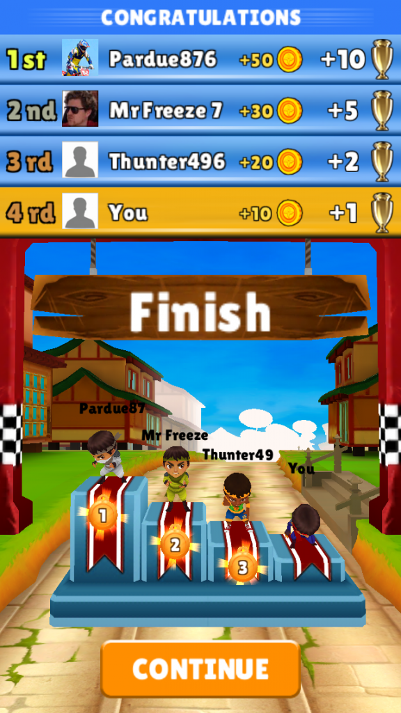 Fun Race Ninja Kids