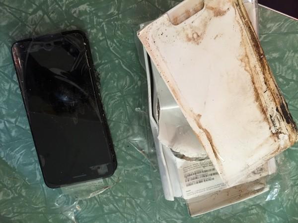 iPhone 7 Plus ระเบิด