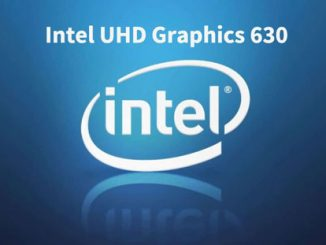 Intel UHD Graphic 630