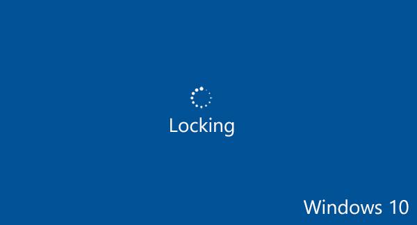 Locking Windows 10