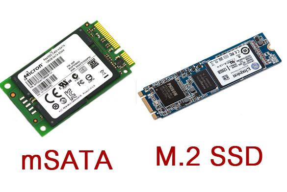 M.2 SSD และ mSATA SSD