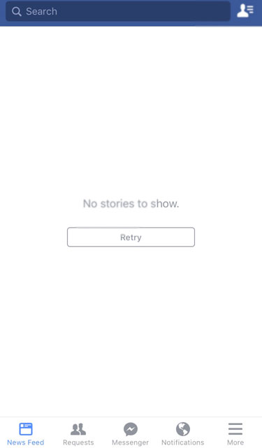No stories to show