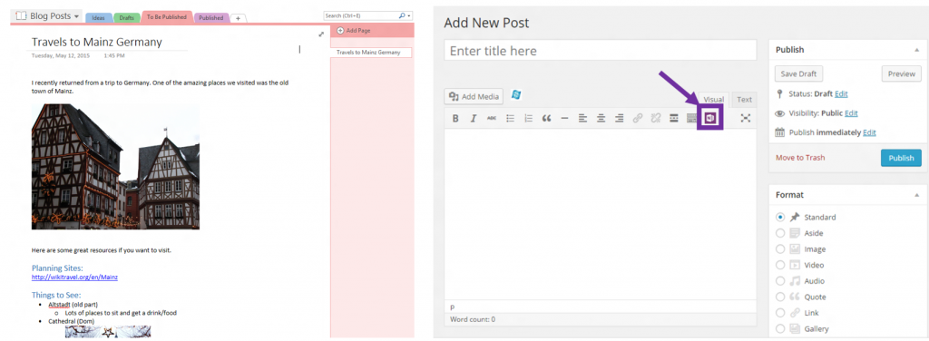 OneNote-welcomes-three-new-partners-cloudHQ-Equil-and-WordPress-4