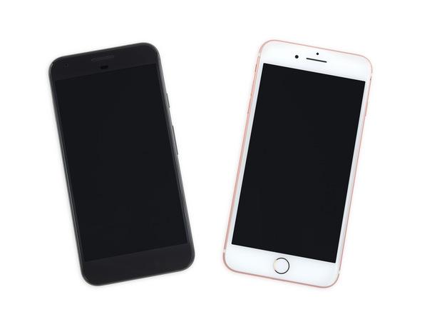 Pixel XL vs iPhone 7