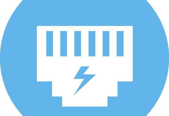 Power Over Ethernet PoE logo