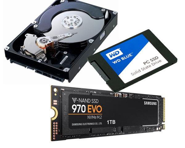 SSD กับ HDD