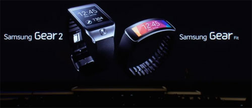 Samsung Gear 2 และ Samsung Gear Fit