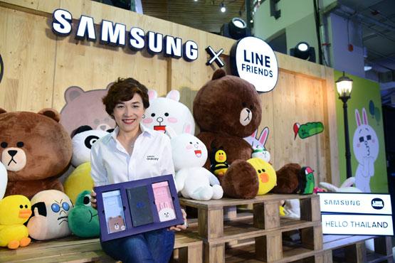 คุณวราพร และเคสมือถือ Samsung X