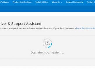 Intel® Driver & Support Assistant