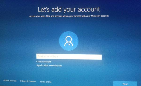 เข้าสู่ระบบด้วยบัญชีไมโครซอฟท์ Sign in with Microsoft