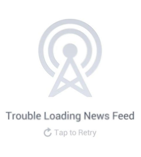 Trouble Loading News Feed