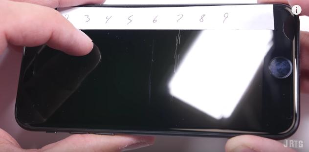 iPhone 7 เป็นรอย