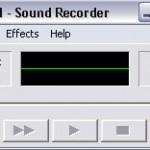 อัดเสียงจากคอมพิวเตอร์ ด้วย Sound Recorder