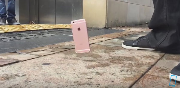 Drop Test มือถือ iPhone 6S และ iPhone 6S Plus