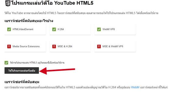 HTML 5 Yotube