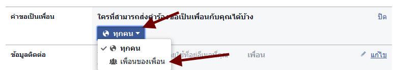 เพิ่มเพื่อน Facebook