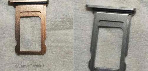 ถาดใส่ซิมสีทอง iPhone X
