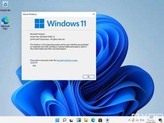 Windows 11 Version