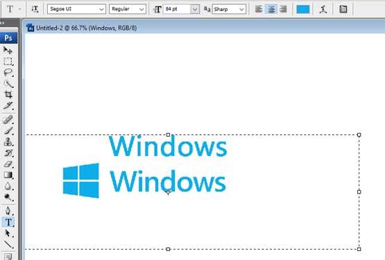 Windows logo Segoe UI