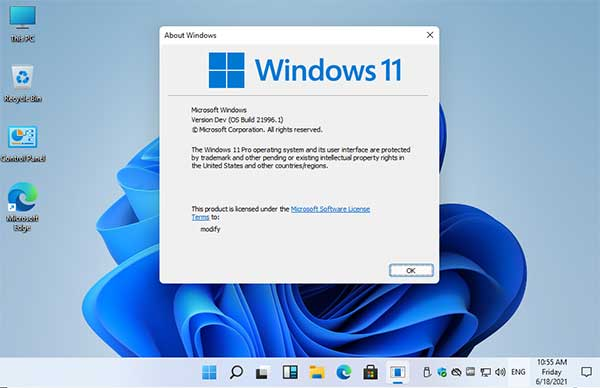 Winver Windows 11
