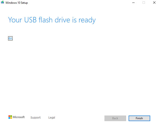 Your USB flash driver is deady