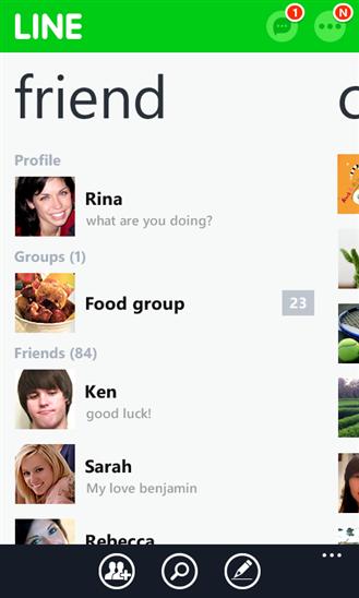 LINE สำหรับ Windows Phone