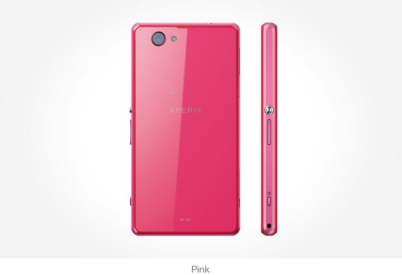 Sony Xperia Z1 f  สีชมพู