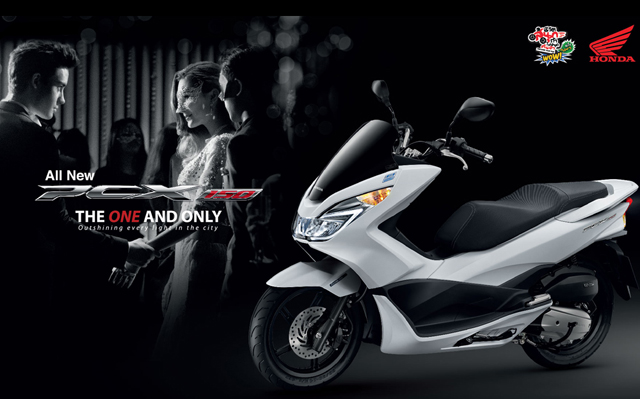 All New Honda PCX150 ปี 2014